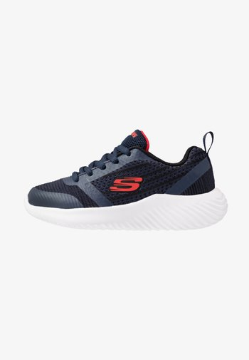 BOUNDER - Trainers - navy/black/red