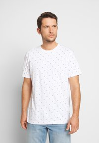 Scotch & Soda - CLASSIC  - T-shirt print - white - 0