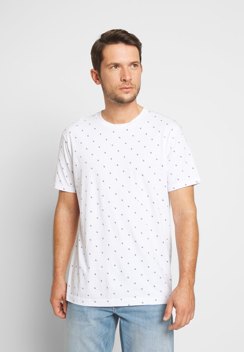 Scotch & Soda - CLASSIC  - T-shirt print - white
