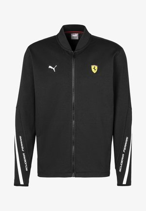 SCUDERIA FERRARI - Zip-up hoodie -  black