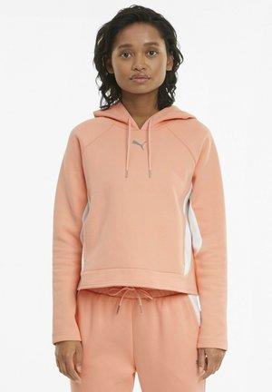 Hoodie - apricot blush
