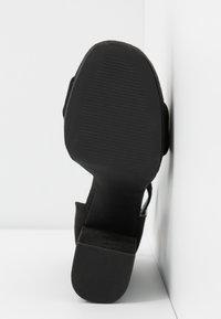 Even&Odd - Sandali con tacco - black - 6