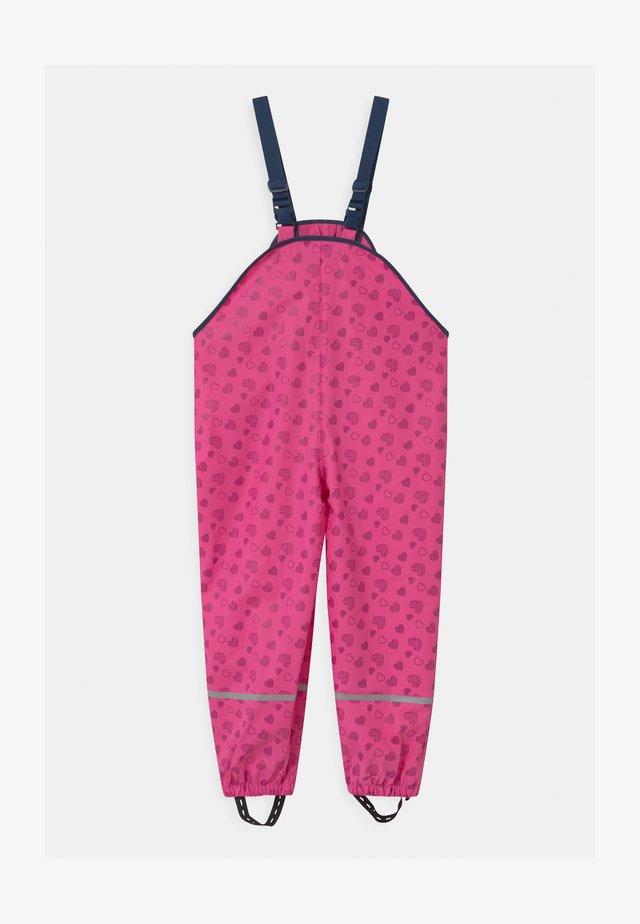 HERZCHEN - Pantaloni impermeabili - pink