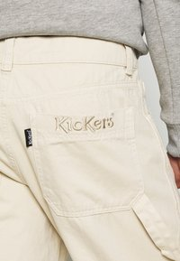 Kickers Classics - DRILL STRAIGHT LEG TROUSER - Trousers - beige - 4
