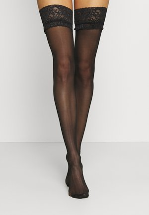 FIERCE STOCKINGS - Overknee-strømper - black