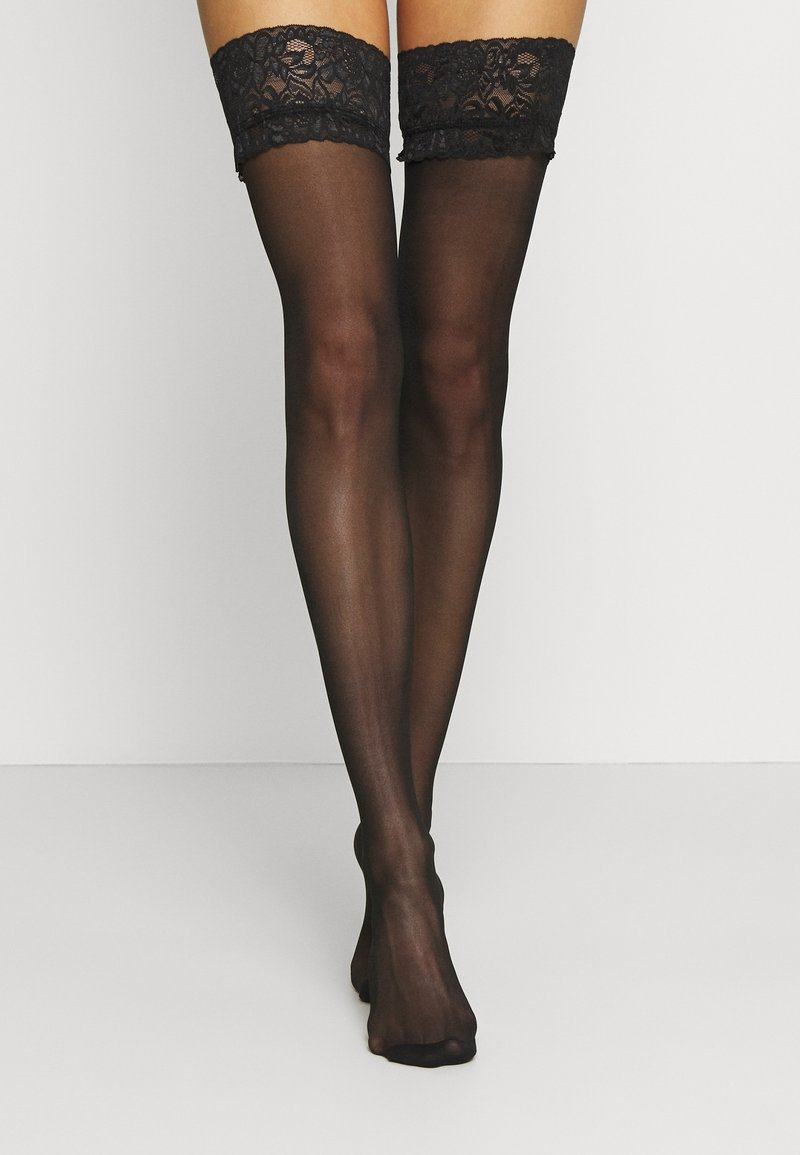 Ann Summers - FIERCE STOCKINGS - Over-the-knee socks - black