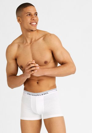 POUCH TRUNKS 3 PACK - Pants - white