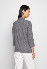 Marc O'Polo - BLOUSE 3 4-SLEEVE PLACKET WITH COLLAR - Blusa - multi/night sky - 2