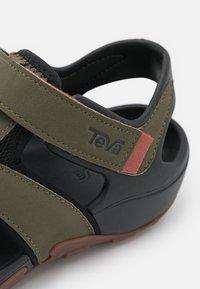 Teva - FLINTWOOD - Walking sandals - dark olive - 5
