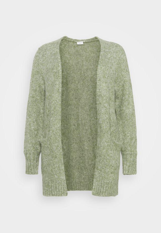 ALICIA CARDIGAN - Cardigan - hedge green melange