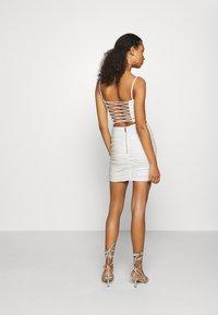 Tiger Mist - ZION SKIRT - Mini skirt - white - 2