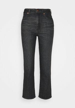 WILD WEST - Straight leg jeans - black magic