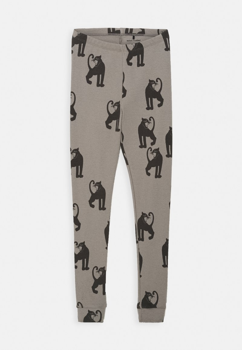 Mini Rodini - PANTHER UNISEX - Leggings - Trousers - grey