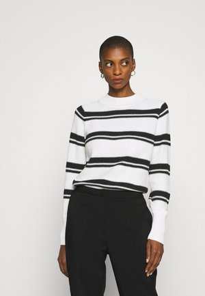 CROP MOCK - Jersey de punto - black milk