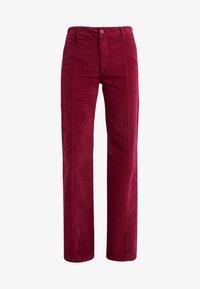 See by Chloé - Spodnie materiałowe - juicy purple - 5