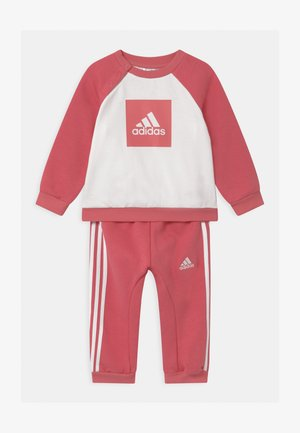 LOGO SET UNISEX - Tracksuit - hazy rose/white