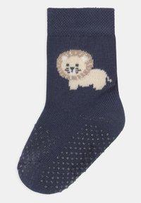 Ewers - LION 2 PACK - Socks - dark blue/brown - 1