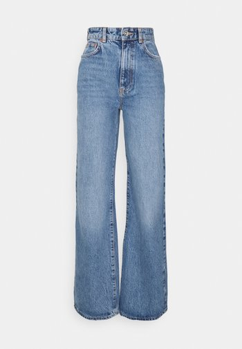 IDUN WIDE - Relaxed fit jeans - skyline blue