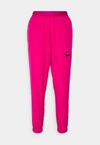 Nike Performance - RUN PANT - Pantalon de survêtement - fireberry/arctic punch/black - 4
