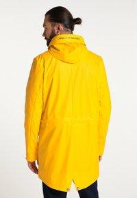 Schmuddelwedda - Waterproof jacket - mustard yellow - 2