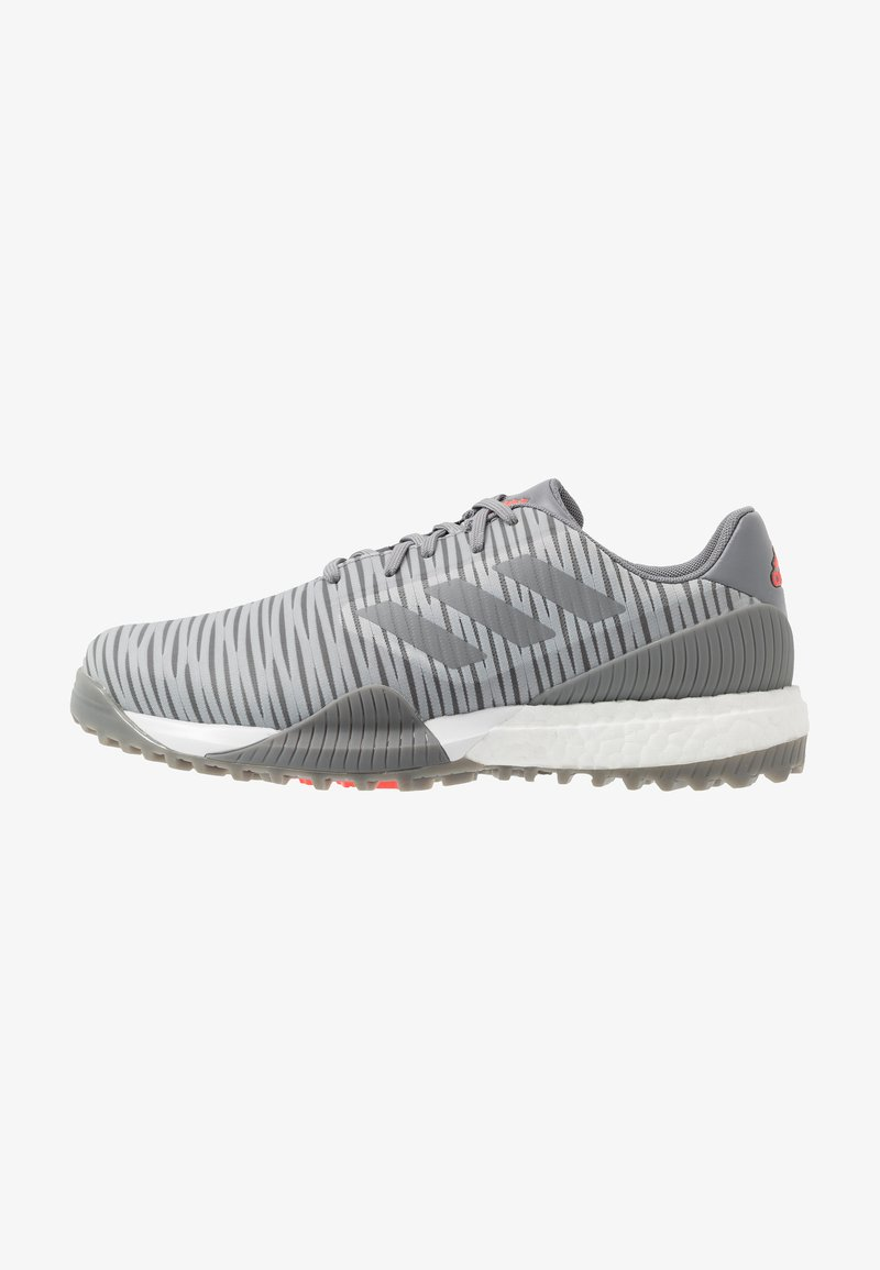 adidas Golf - CODECHAOS SPORT - Golfové boty - grey two/grey three/solar red