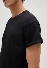 PULL&BEAR - 3 PACK - T-shirt - bas - white - 4