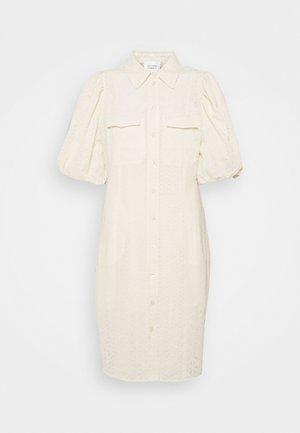 BILBAO MINI DRESS - Shirt dress - parchment