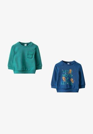 2 PACK - Sweatshirt - green