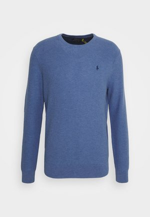 LONG SLEEVE - Strickpullover - blue stone heather