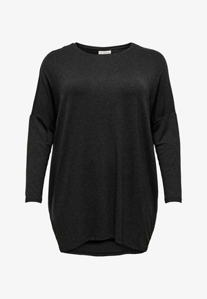 CARCARMA LONG - Long sleeved top - dark grey melange