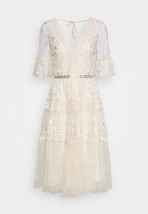 MIDSUMMER DRESS EXCLUSIVE - Sukienka koktajlowa - champagne