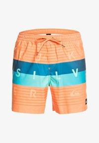 Quiksilver - WORD BLOCK VOLLEY 17 - Swimming shorts - nectarine - 4