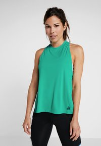 Reebok - MEET YOU THERE TRAINING TANKTOP - Camiseta de deporte - emeral - 0