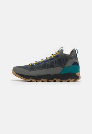 FLOW BOROUGH LOW - Hiking shoes - charcoal/golde