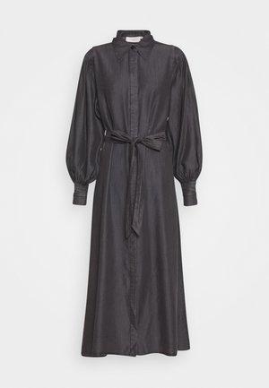 MALOU - Denim dress - black