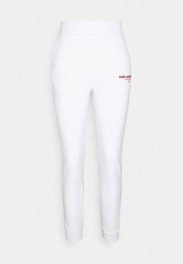 GRAPHIC LOGO - Trainingsbroek - white