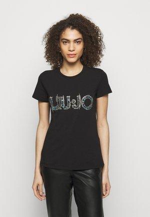 LOGO - T-shirts med print - nero
