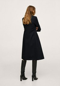 Mango - KATOENEN - Klasyczny płaszcz - zwart - 6