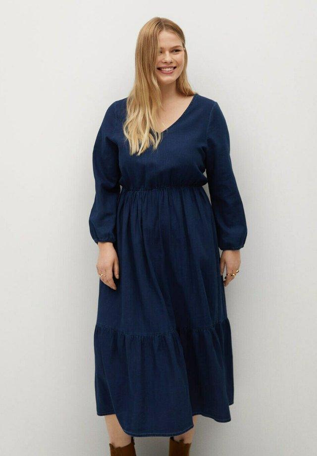 Denimové šaty - dunkelblau