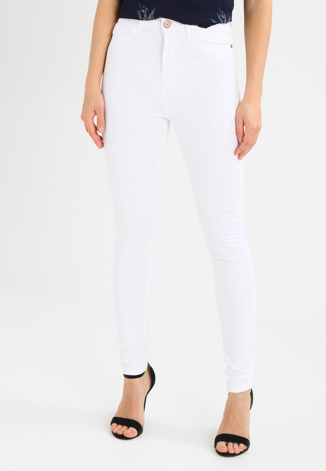 NMSKYHIGH - Jeans Skinny Fit - bright white