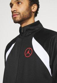 Jordan - Training jacket - black/white/chile red - 4