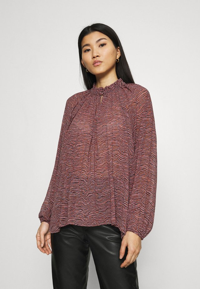 VENEZIA NEW BLOUSE - Blouse - roan rouge