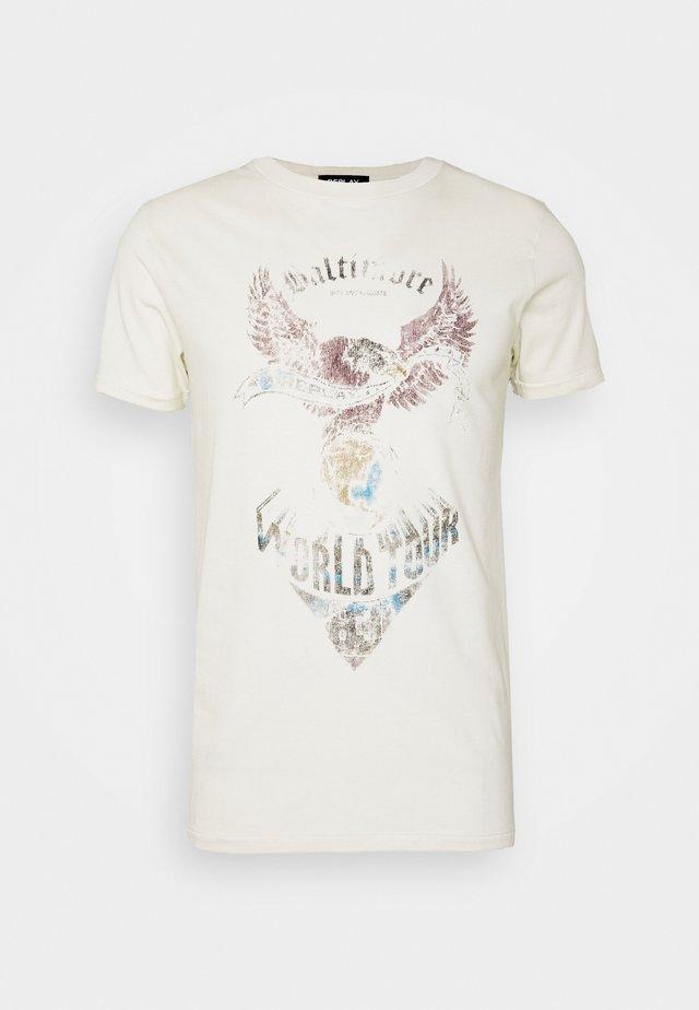 Camiseta estampada - offwhite