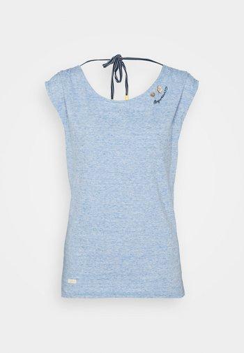 GRETA - Print T-shirt - blue