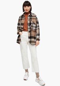 s.Oliver - Light jacket - brown check - 1