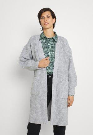 GERBERA LONGLINE CARDIGAN - Cardigan - grey