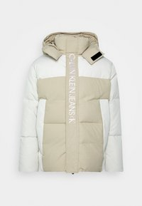 Calvin Klein Jeans - ECO FASHION PUFFER - Giacca invernale - irish cream - 0