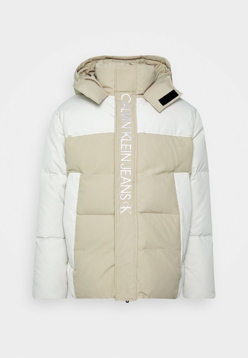 Calvin Klein Jeans - ECO FASHION PUFFER - Giacca invernale - irish cream
