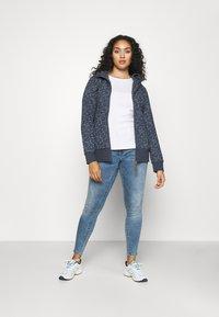 Ragwear Plus - YODA ORGANIC - Zip-up hoodie - navy - 1