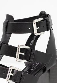 New Look - PENG - Sandály na vysokém podpatku - black - 2